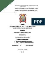 CONTRATO ADMINISTRATIVO DE SERVICIOS