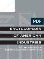 Encyclopedia of American Industries (2 Volume Set) Vol.1