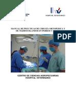 Manual  de practicas de cirugía veternaria