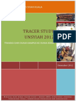 Tracer Study Report UNSYIAH 2012