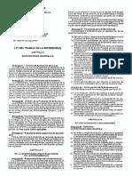 Ley Del Trabajo de La Enfermeria 2002
