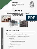 Unidad 4 - INTRODUCCIÓN AL ESTUDIO DE EDIFICACIONES DE CONCRETO REFORZADO