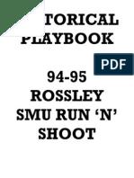 1994 95+SMU+Mustangs+Run+N+Shoot+Offense