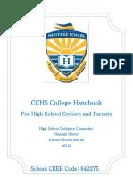 grade 12 handbook