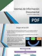 Sistemas de Información Documental