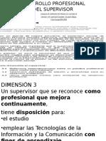 3 Desarrollo Profesional Del Supervisor