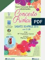 Concerto di Primavera 2016
