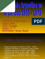 HISTORIA ARGENTINA PERON.