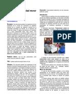 A Mayor Productividad Menor Costo (Informe Modelo)
