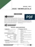 Bio S1 Biología, Biomolécula