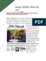 Alfa y Omega Biblia, Libro de Emigrantes