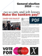 Election Leaflet