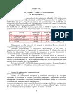 Analiza Si Reproiectarea Manageriala a Iachy Srl
