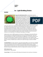 Lighting Systems - Light Emitting Diodes(LED)