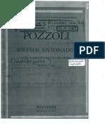 Pozzoli Solfeo 1
