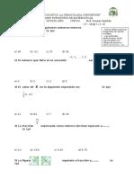 Matematicas OCTAVO Año básico Supletorio 2015-2016