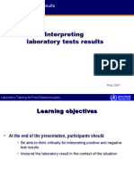 Interpreting Lab Tests