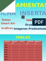 Powerpoint Con Herramientas de Word