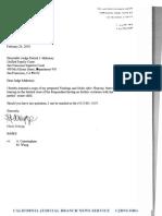 Divorce Attorney Maria Schopp Letter & Forged Order