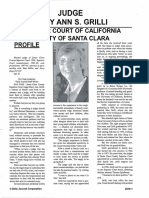 Judge Mary Ann Grilli Profile