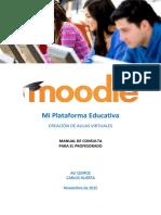 Manual Moodle Para Docentes (Rol de Profesor)
