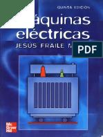 Máquinas Eléctricas -  Jesús Fraile Mora 5ta ed