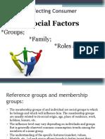 Factors Affecting Consumer B