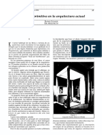 La Cabaña Primitiva en la arquitectura actual_RE