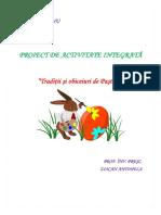 Proiect Didactic Paste Interesant