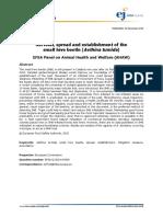 Survival, spread and establishment of the small hive beetle ( Aethina tumida ) EFSA Panel on Animal Health and Welfare (AHAW)4328