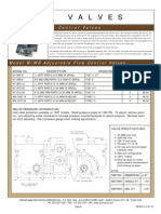 Prince Hydraulics Wolverine Adjustable Flow Control Valve Offered by PRC Industrial Supply