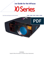 infocus lp400 service manual