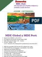 MDE Saweto Perú 13.10.14