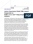 US Department of Justice Official Release - 01813-06 crt 467