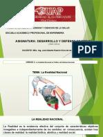 Desarrollo y Defensa Nacional - 3era Sesión (26.03.16)