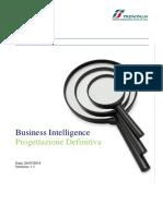 20140724 sBusiness Intelligence-Progettazione Definitiva v 1 1