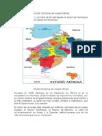División Territorial Del Estado Mérida