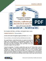 Novena Por Eleccion Del Nuevo Papa