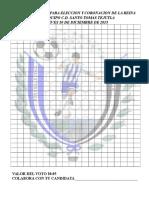 Venta de Votos Santo Tomas 2015