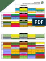 Horario 2015 II Ingenieria Informatica Sistemas