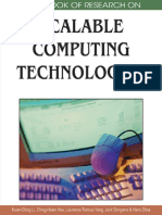 Handbook Scalable Computing