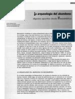 DARRAS, V. 2003. La Arqueología Del Abandono_algunos Apuntes Desde Mesoamérica