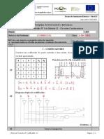 Ficha de trabalho de Circuitos Combinatórios Resolvida