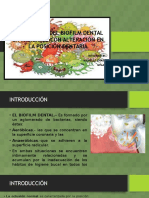 Prevalencia Del Biofilm Dental en Pacientes Con Alteración