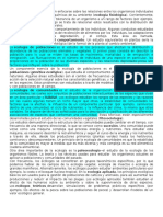 Ecología de Poblaciones, Comunidades,...