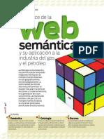 El Avance de La Web Semántica y Su Aplicación a La Industria Del Gas y El Petróleo - Perspectiva N 7