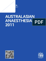 Anzca Blue Book 2011