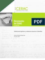 Violencia de género y violencia sexual en Colombia