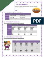 Os Pronomes Subclasses Blog 9-09-10