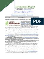 Pa Environment Digest April 11, 2016